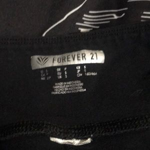 Forever 21 Pants - Lace Up Leggings